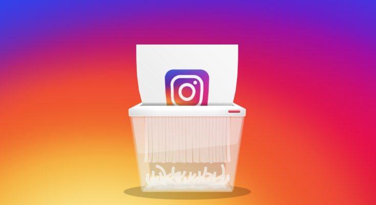 Как удалить страницу в Инстаграме навсегда