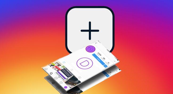 как добавить публикацию в Инстаграм