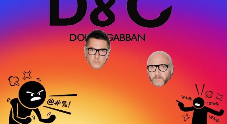фото скандал dolcegabbana в инстаграм