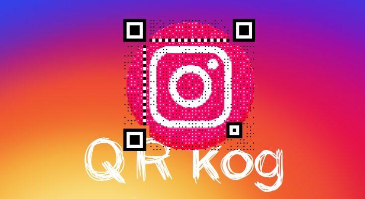 qr код в инстаграм